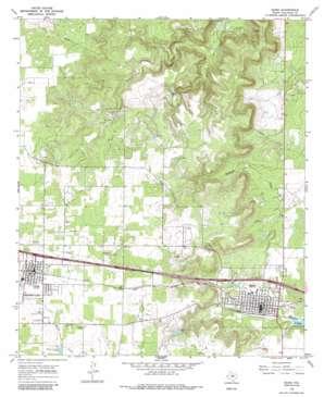 Baird topo map