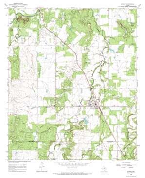 Moran USGS topographic map 32099e2