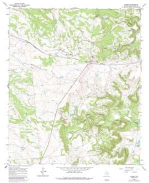 Acampo topo map