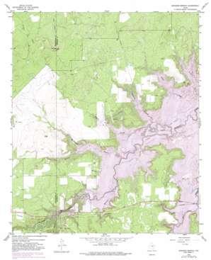Edwards Branch topo map