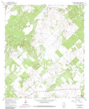 Murphy Creek topo map