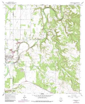 Lueders East USGS topographic map 32099g5