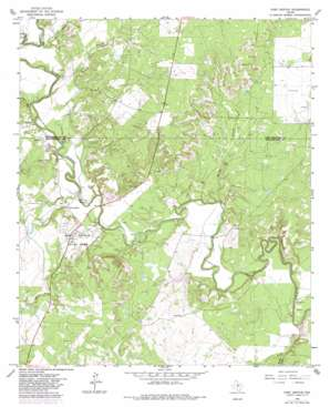 Fort Griffin USGS topographic map 32099h2