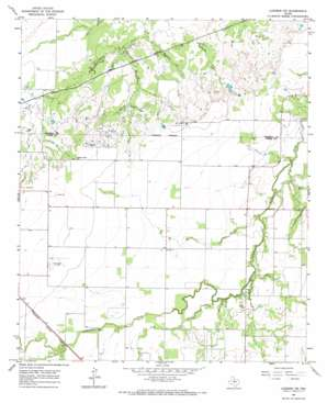 Lueders NW USGS topographic map 32099h6