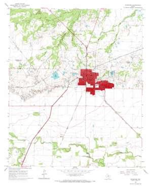 Stamford topo map