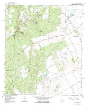 Church Peak topo map
