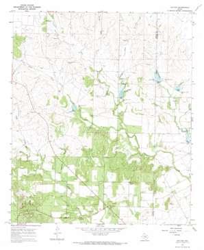 Hylton topo map