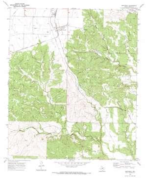 Maryneal topo map