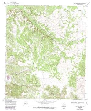 Dew Drop Creek topo map