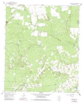 Spade Ranch topo map