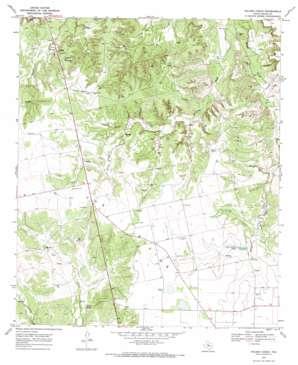 Holder Creek topo map