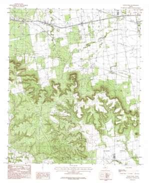 Chalk Peak USGS topographic map 32100d2