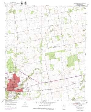 Colorado City topo map