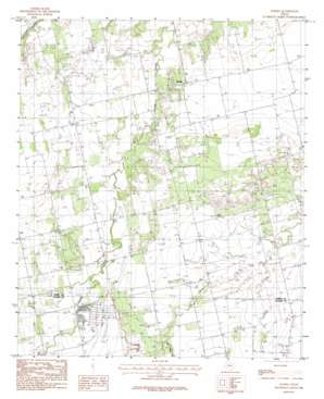Snyder USGS topographic map 32100e1