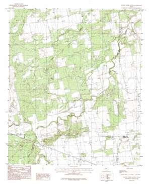Raven Creek South topo map