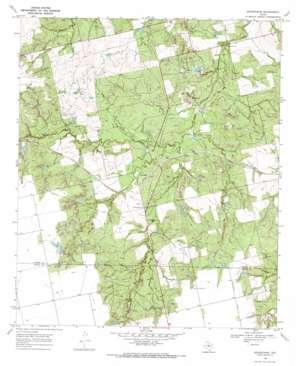 Bernecker topo map