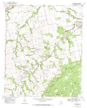 Longworth topo map