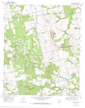 Bull Creek USGS topographic map 32100f5