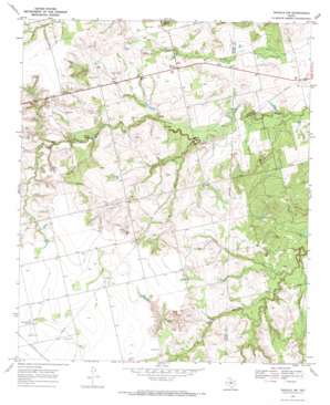 Inadale Nw topo map