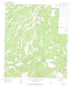 Buffalo Draw topo map