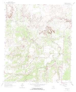 Hyman Ne topo map