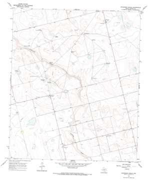 Dickenson Ranch topo map