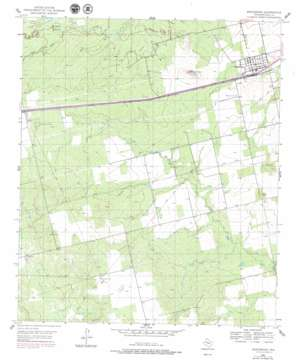 Westbrook topo map