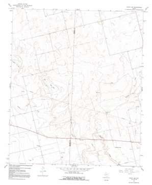 Knott Sw topo map