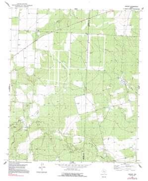 Vincent topo map