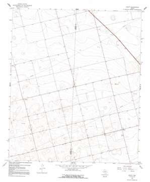 Knott topo map