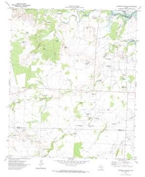 Gunsight Draw SE USGS topographic map 32101e3