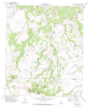 Gunsight Draw topo map