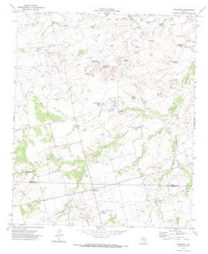 Vealmoor topo map