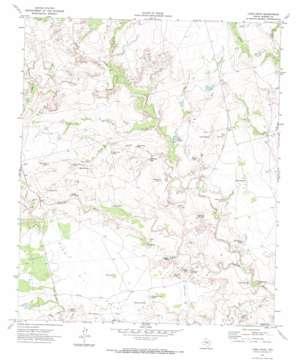 Long Draw topo map
