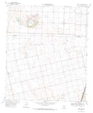 Gooch Lake topo map