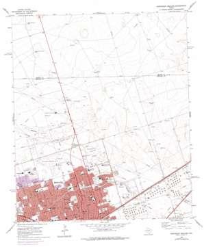 Northeast Midland topo map