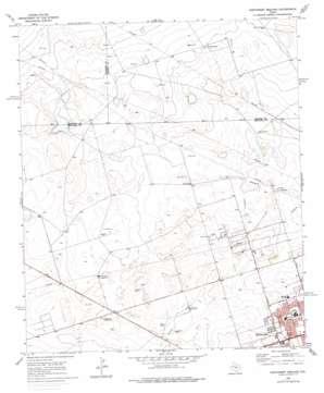 Northwest Midland topo map
