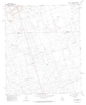Coyote Corner topo map
