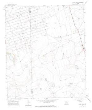 Mabee Ranch topo map