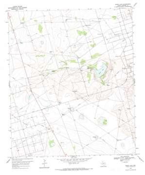 Baird Lake topo map