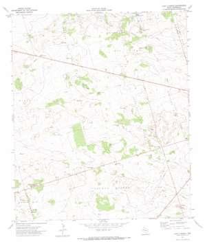 Lazy X Ranch topo map