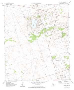 Whalen Lake topo map