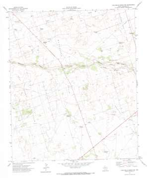 Five Wells Ranch Nw topo map