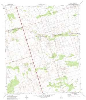 Florey topo map