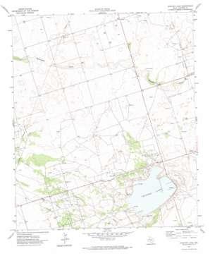 Shafter Lake topo map