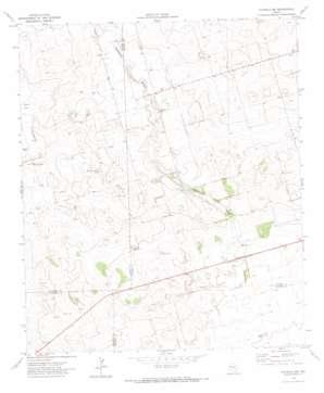 Patricia Sw topo map