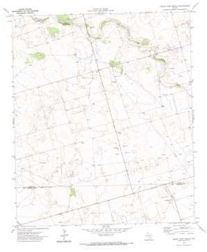 Cedar Point Ranch topo map