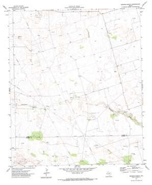 Brinson Ranch topo map
