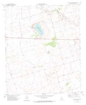 Mckenzie Lake topo map