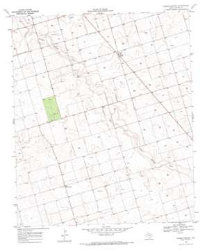 Punkin Center topo map